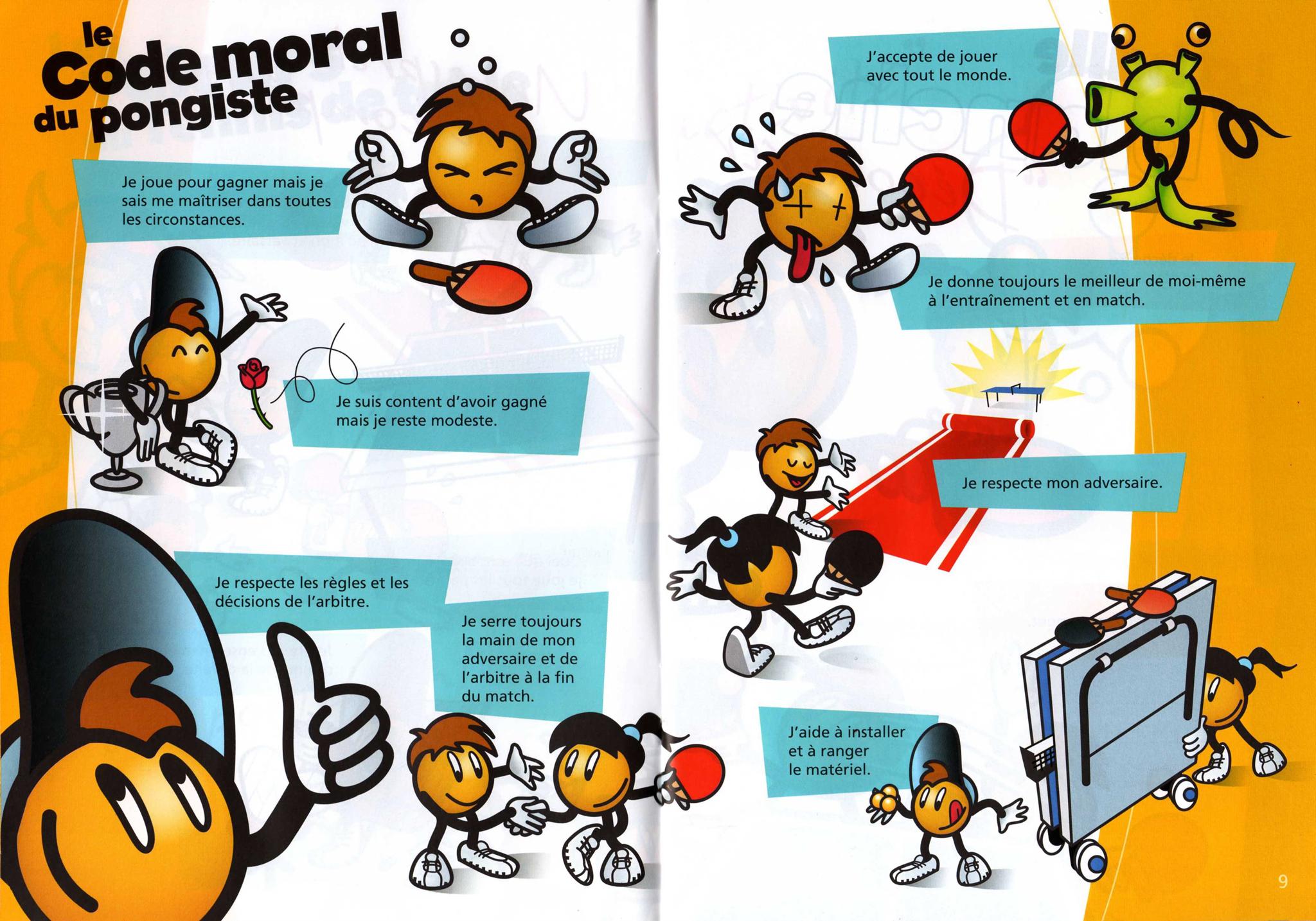 R gles fftt club chevry ii tennis de table - Federation francaise de tennis de table classement ...